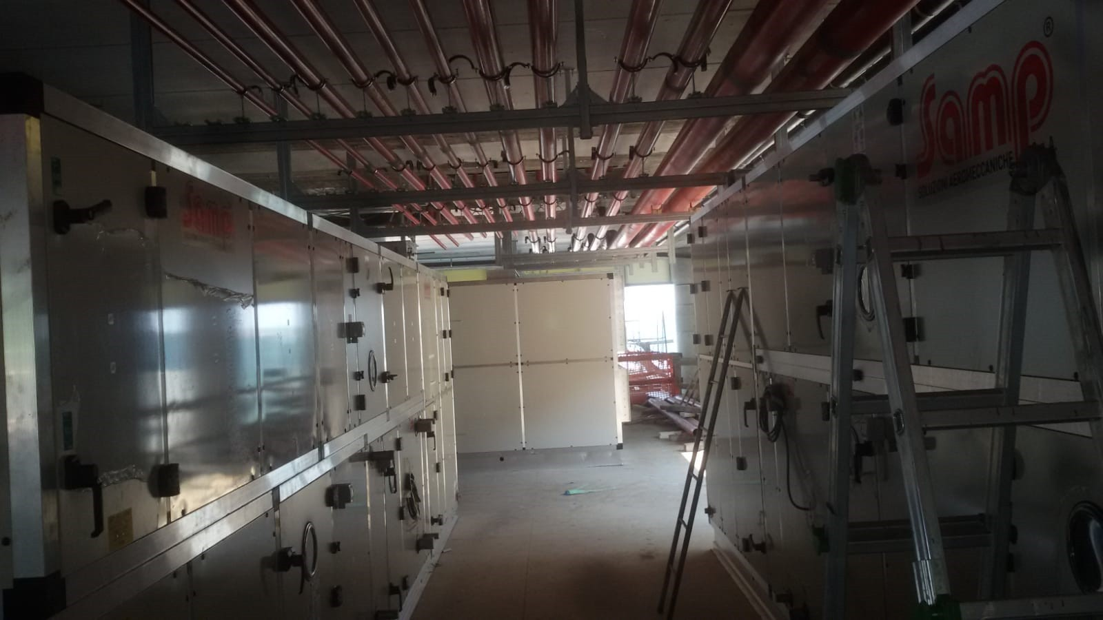 Work done for the new Alba-Bra hospital in Verduno