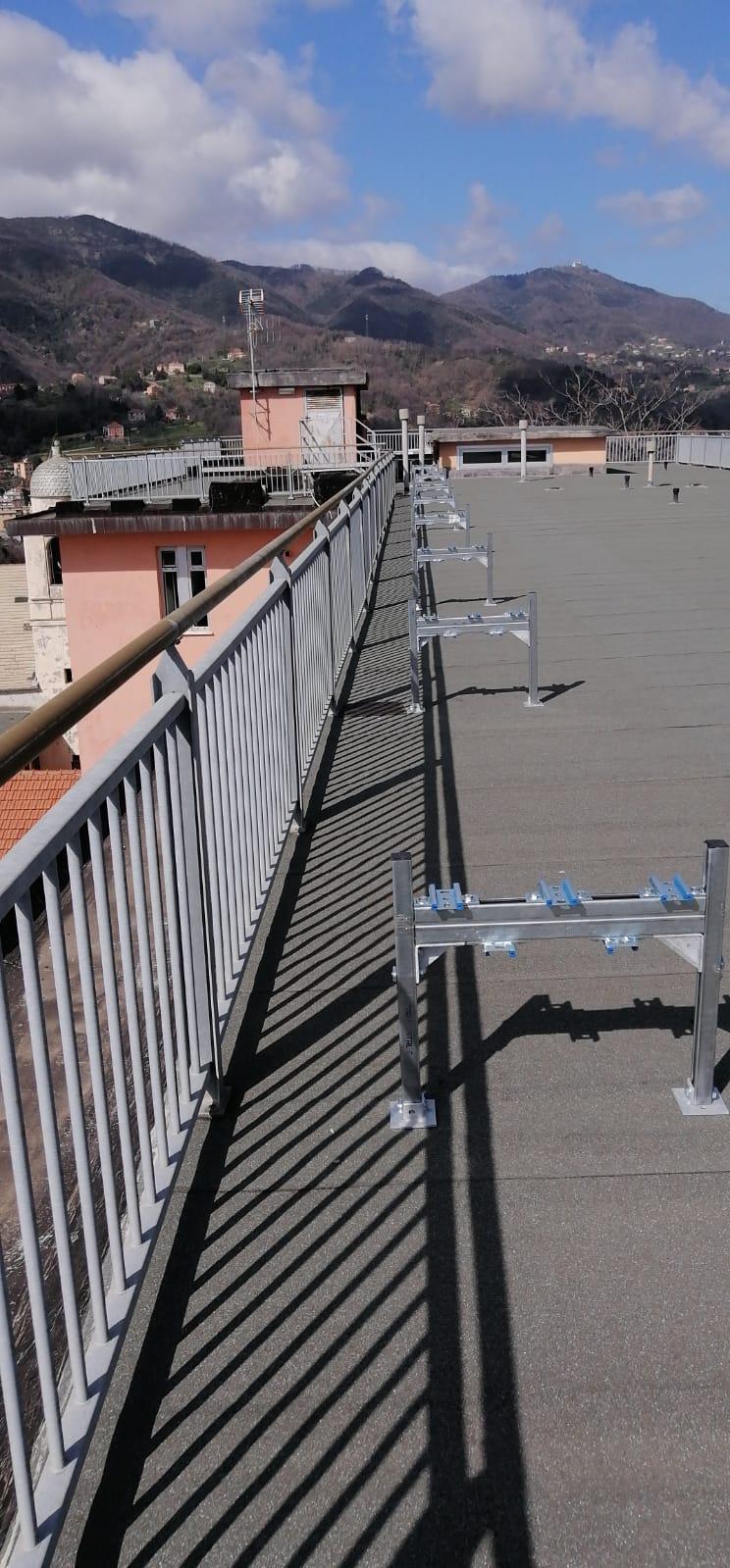 Work done for Celesia Hospital in Genova