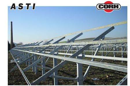 Campo fotovoltaico Asti 2
