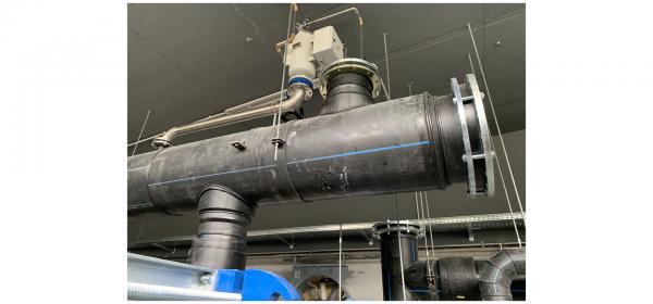 Case History – Staffaggi per impianto raffredamento con acqua di fiume